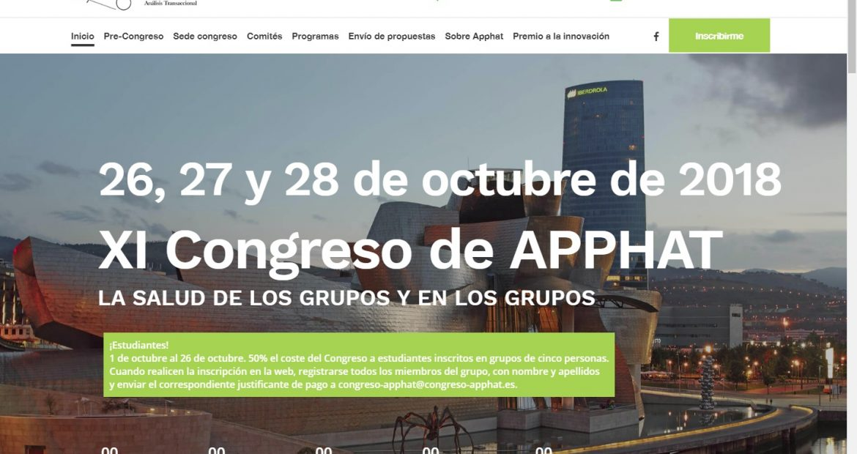psicóloga bilbao, XI Congreso de APPHAT